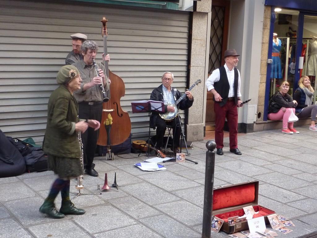 Rue de Buci gademusik