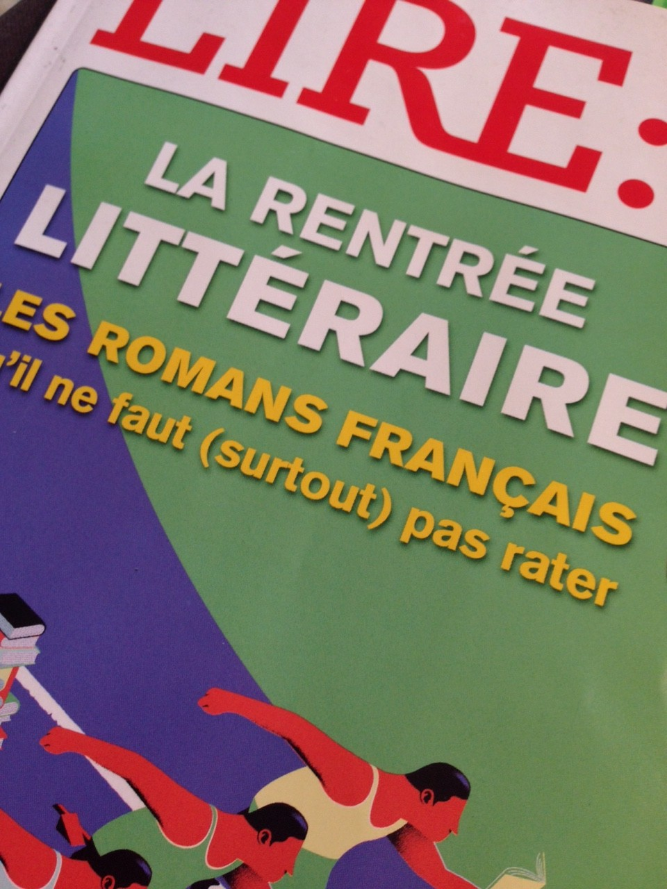 LIRE september rentree litteraire