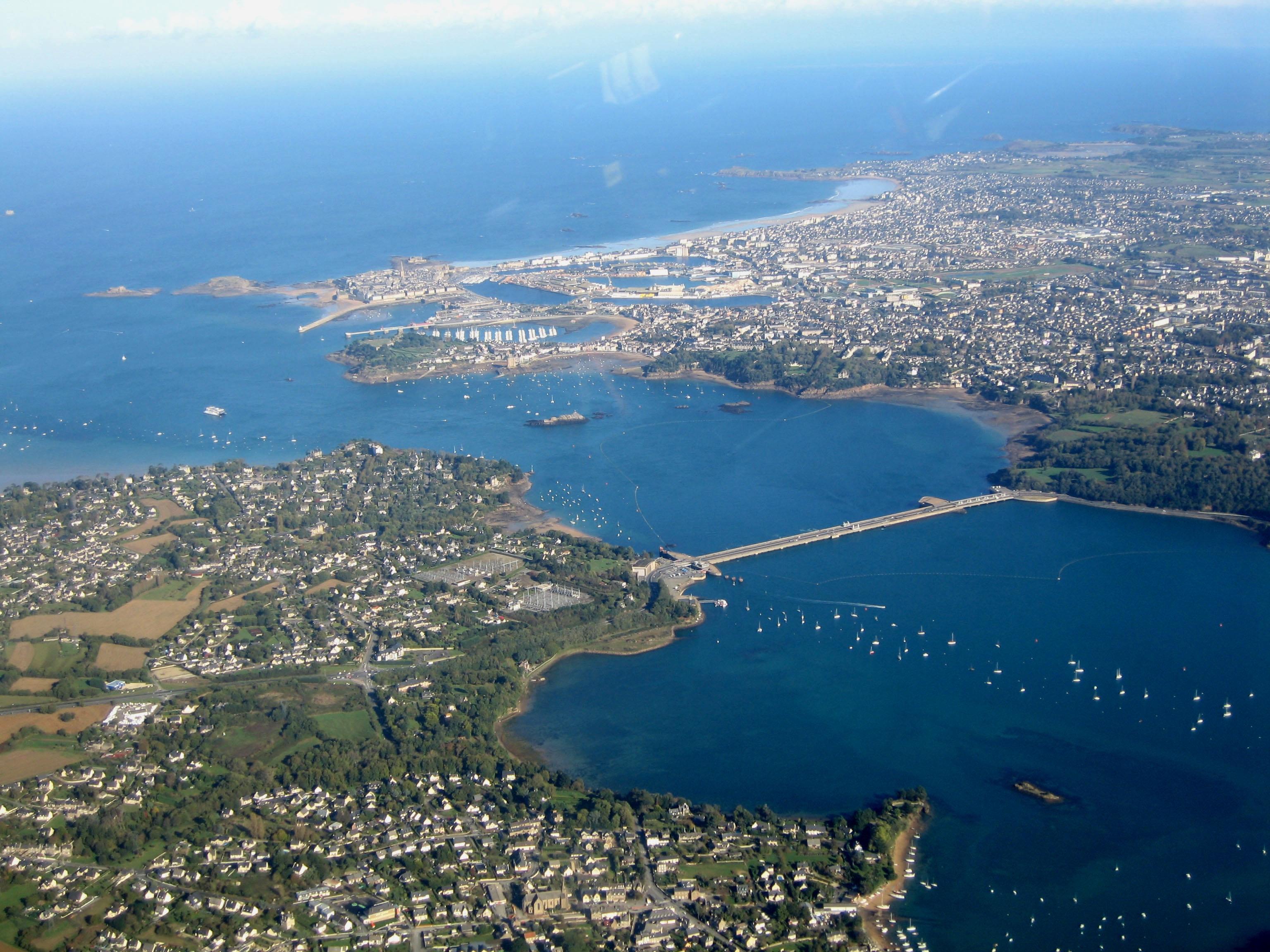 Vue over Saint-Malo