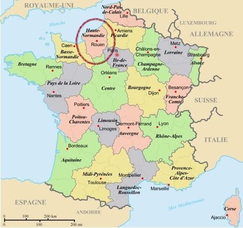 Haute Normandie Connaissances Dk
