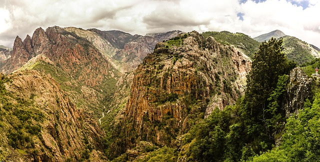 Korsikas bjerge