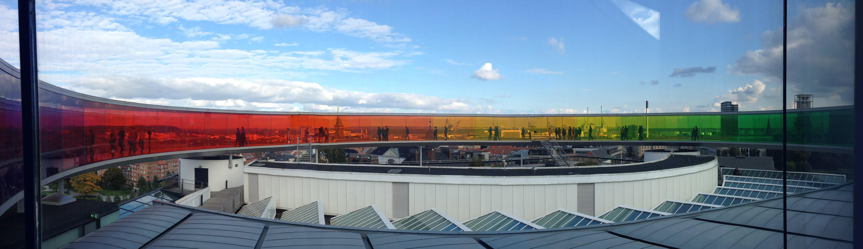 Monet rainbow panorama