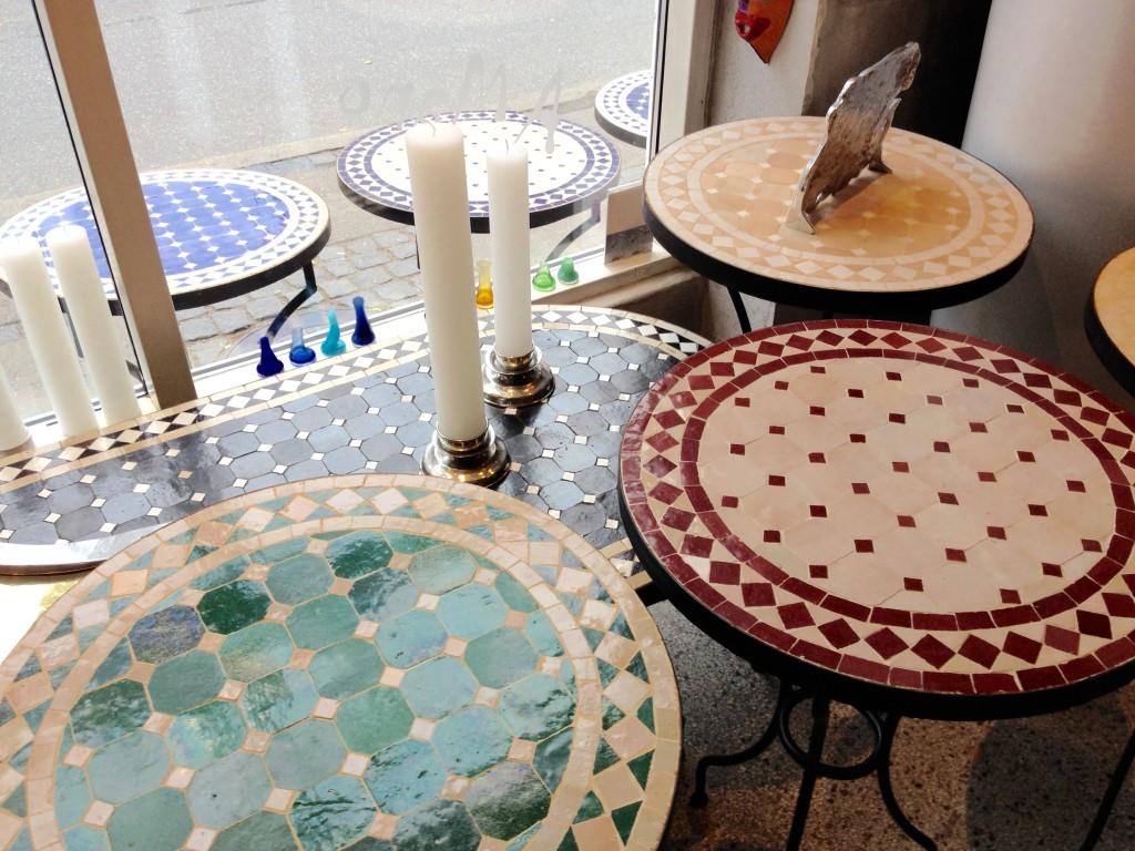 Mosaikbord jægergårdsgade – Møbler til terrasse