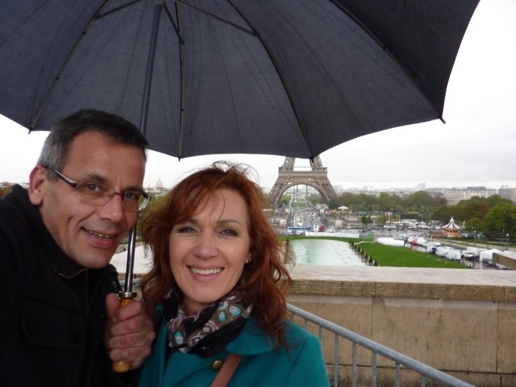 Kærlighed i silende regn