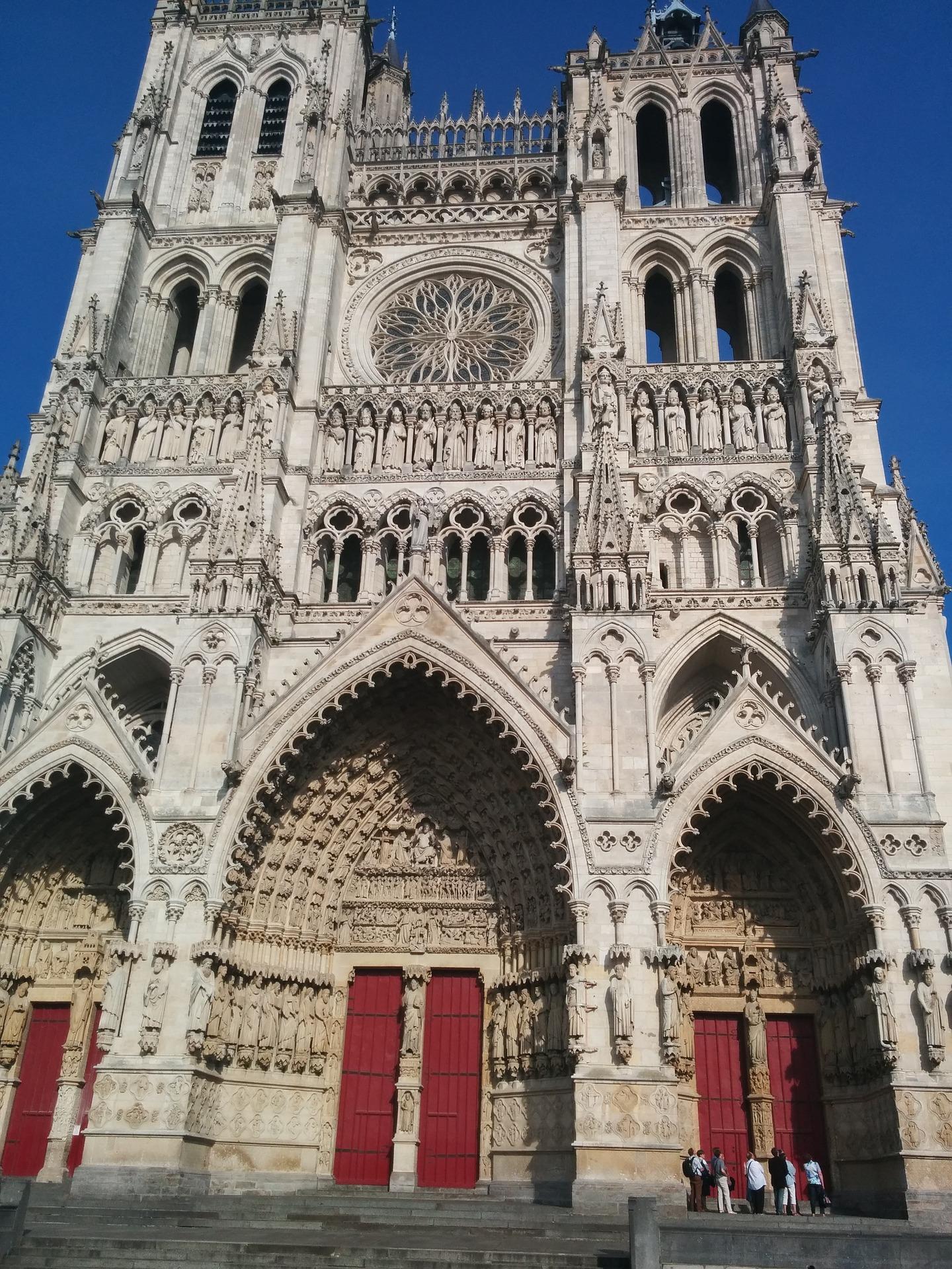 Katedralen i Amiens (Pixabay.com)