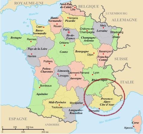 Provence Alpes Cote D Azur Connaissances Dk