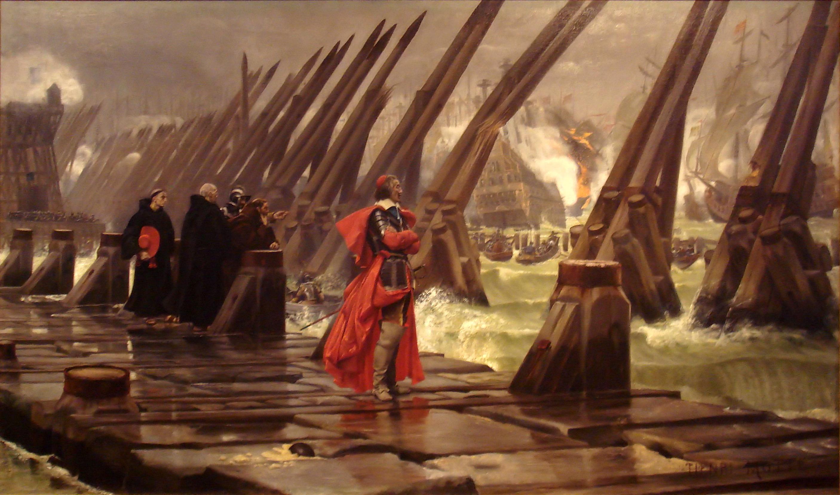 Henri-Paul Motte - Siège de La Rochelle (1881)