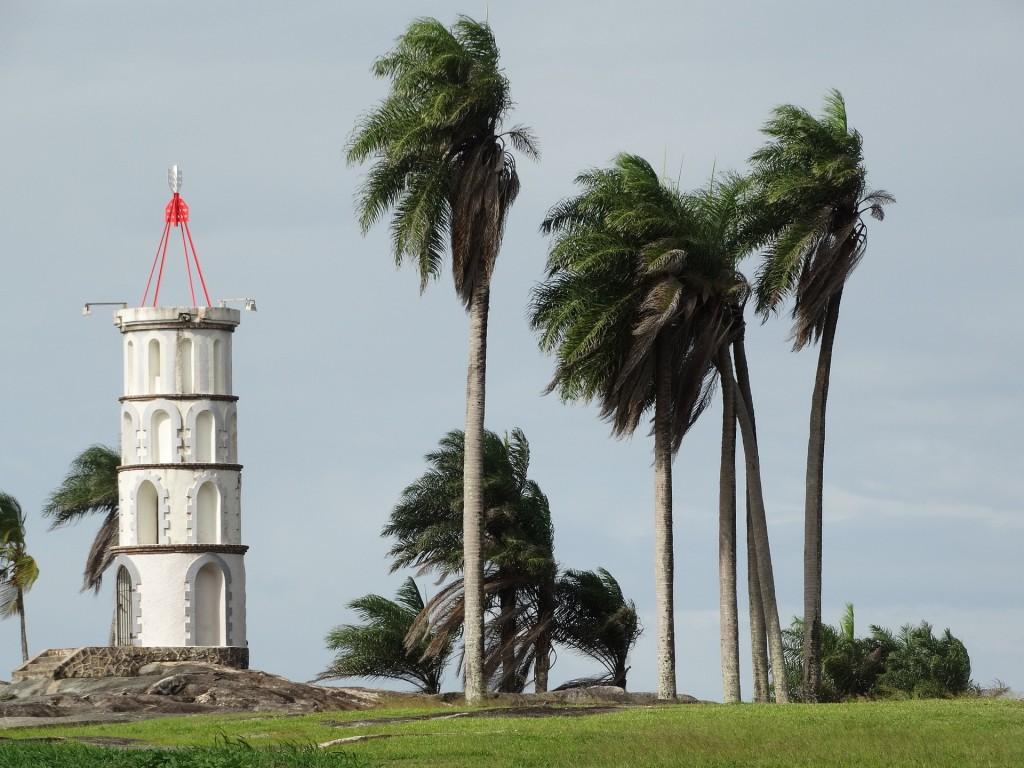 Fransk Guyana fyrtårn Kourou