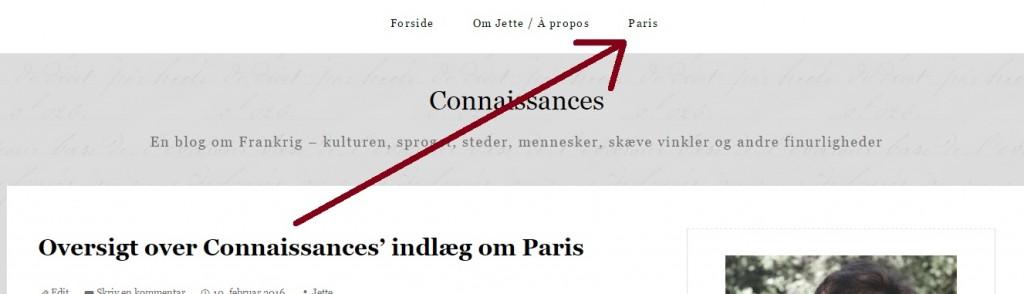 Bloggen om Parissiden Indlæg Paris