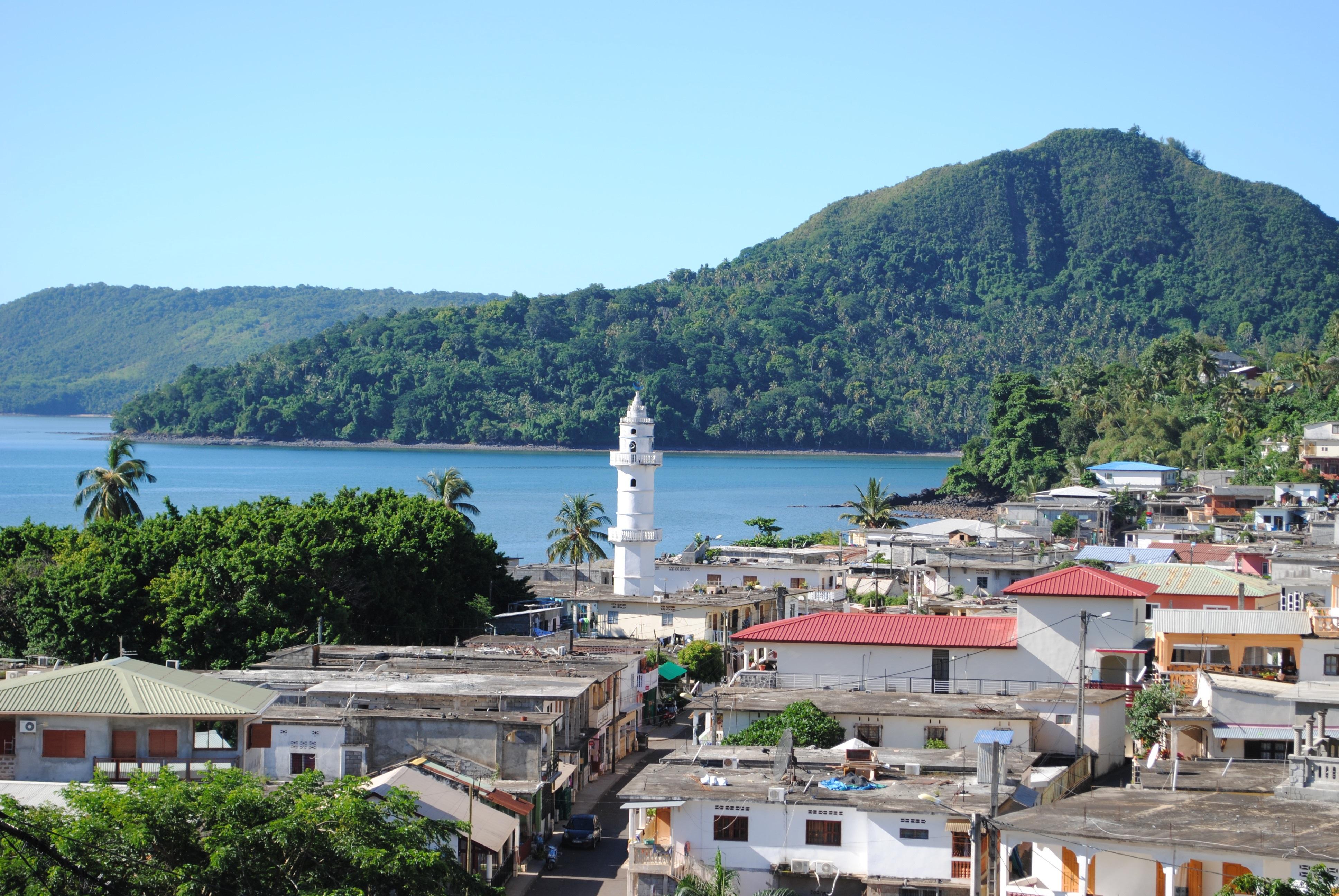 Mayotte byen Sada