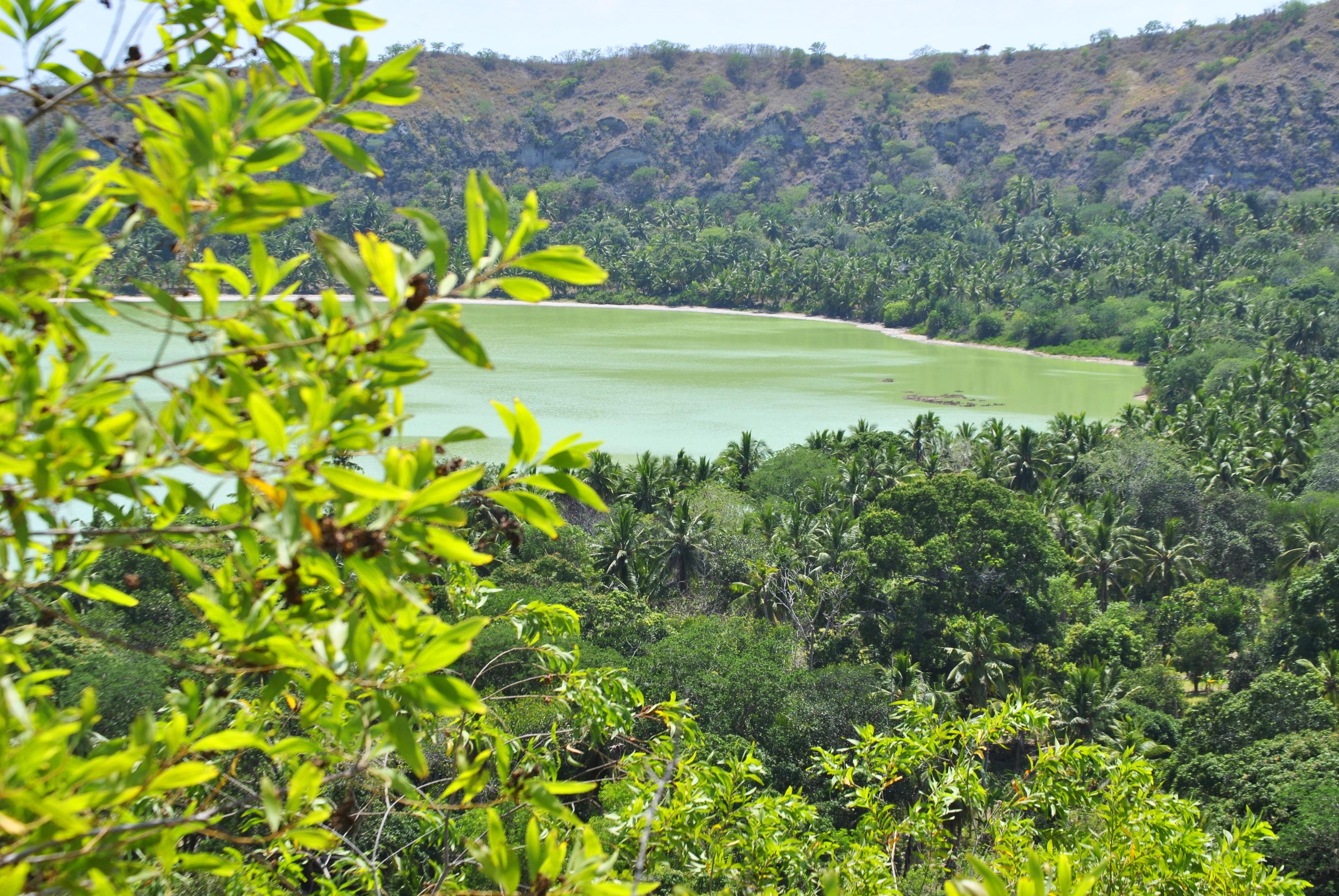 Dziani-søen på Petite-Terre