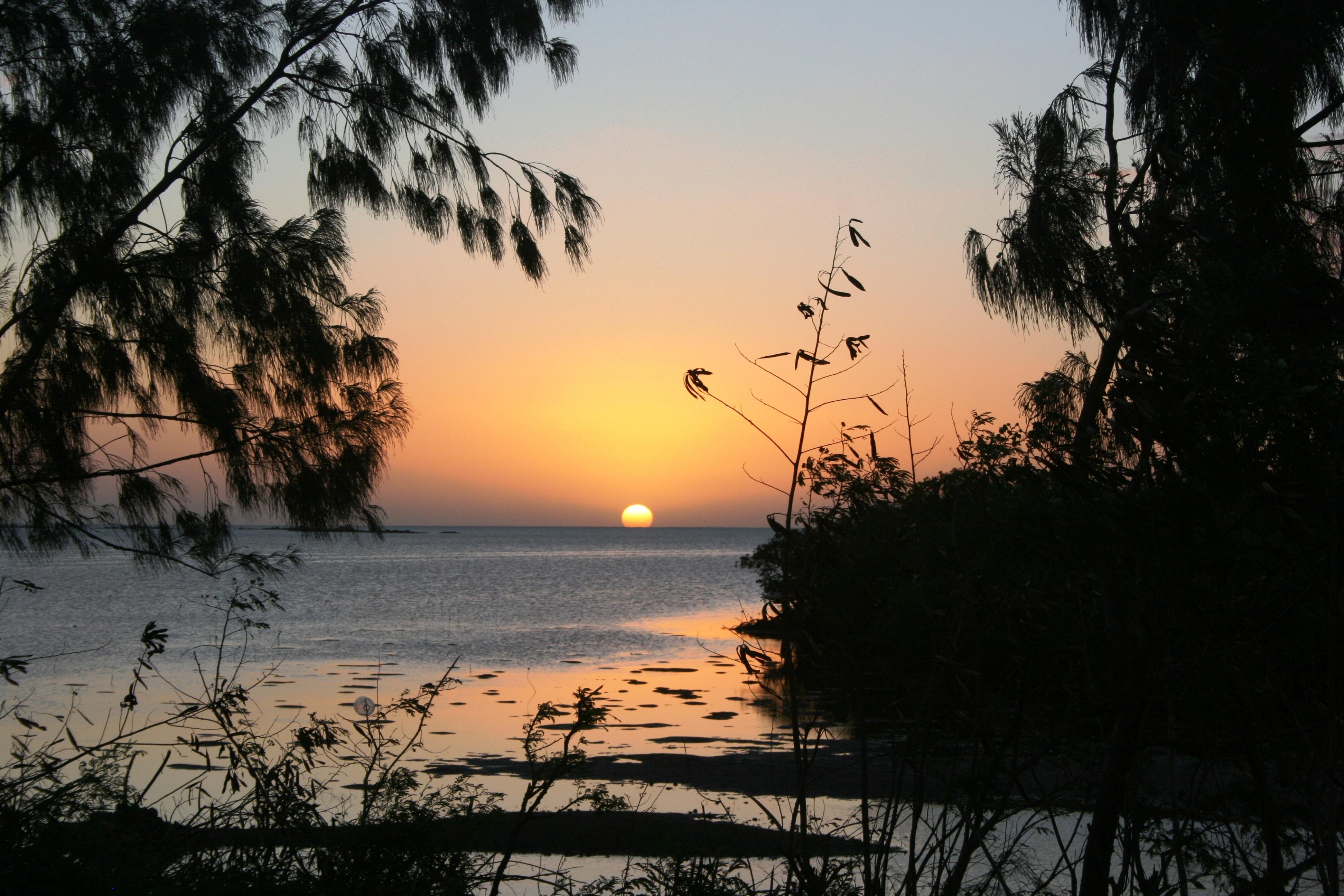 Nouvelle-Calédonie coucher soleil