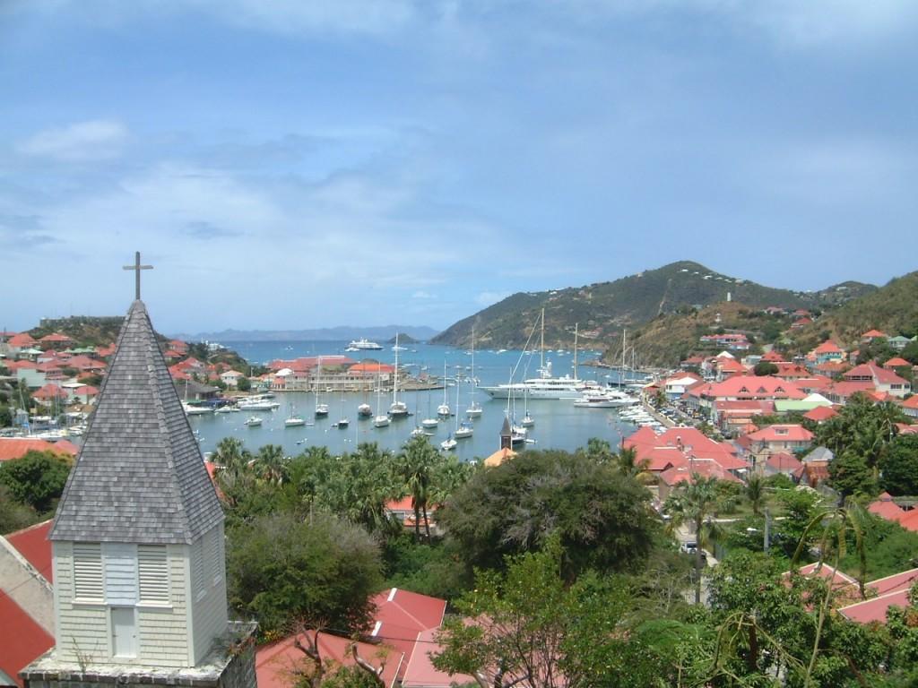 Saint-Barthélemy port de Gustavia