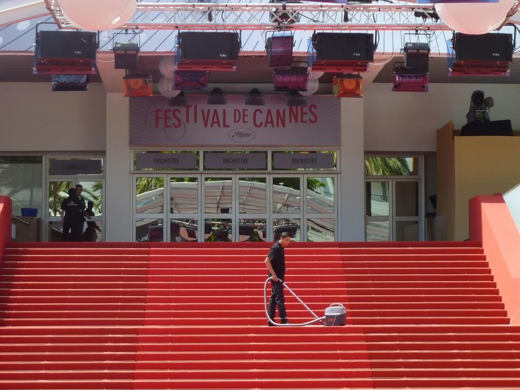 Cannes festival marches