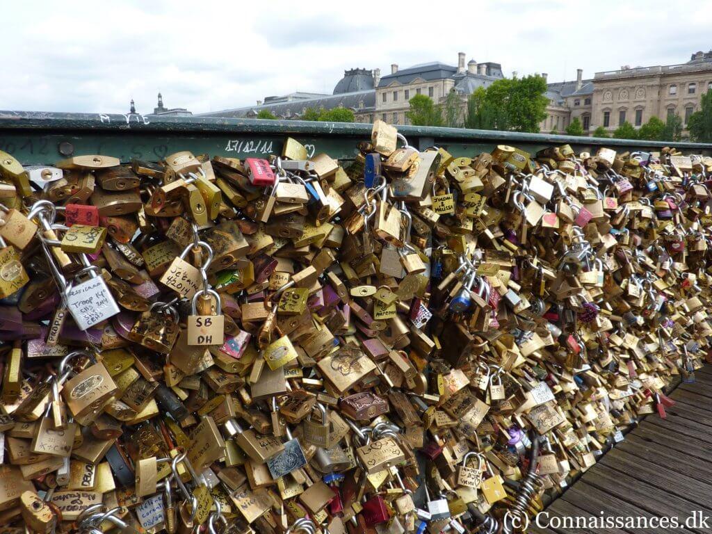 Cadenas Pont des Arts kærlighedslåse